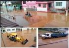 VÍDEO: Funcionários PREFEITURA e CÂMARA não conseguem sair em EWBANK DA CÂMARA / MG. Chuva torrencial rápida alaga cidade
