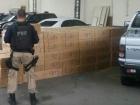 Carros carregavam 72 mil maços de cigarros contrabandeados na BR-101, em Campos dos Goytacazes