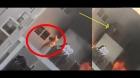 Vídeo: Garota de 8 anos corajosa pula de prédio em chamas e se salva!
