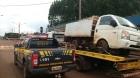 Caminhão Hyundai foge da PRF e bate. Fundo falso escondia 1,2 toneladas de maconha e haxixe