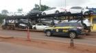 Vídeo: PRF descobre Luxuosa TOYOTA R4V4 roubada de concessionária em São Paulo e escondida em Caminhão Cegonha