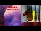 Vulcão Kilauea lança PEDRA e esmaga perna de homem na varanda de casa. Havaí em alerta!