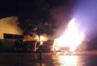 Homens pegam táxi em Três Corações, vão a cidade vizinha atear fogo em ônibus escolar e sofrem acidente na volta