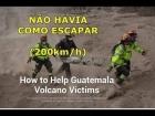 VULCÃO DE FOGO: Fluxo Piroclástico, entenda como é IMPOSSÍVEL escapar. Guatemala #VolcándeFuego