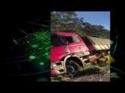 MUITO BÊBADO: Vídeo profilera no WhatsAPP e acusa caminhoneiro injustamente após carreta se acidentar