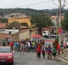 Entregador de gás (motociclista) morre ao ter pescoço cortado por linha chilena em Contagem / MG