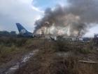 Vídeo mostra TEMPESTADE! Escaparam TODOS! Avião cai, despedaça, pega fogo com 101 pessoas a bordo em Durango, México - Voo Aeroméxico, 2431