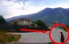 PERIGO! Mar de LAMA PRETA SURPREENDE Vilarejo na Suiça em dia de CÉU LIMPO!