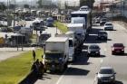 Multas a caminhoneiros não podem ser perdoadas, diz ministro do STF Alexandre Moraes
