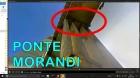 Louco volta na Ponte MORANDI e filma a beira do Precipício! Polêmica: a ponte foi deliberadamente derrubada?