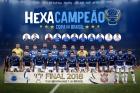 Pôster #CruzeiroHexa estará disponível na sede do Clube. Cruzeiro 2 x 1 Corinthias garantiu mais uma Copa do Brasil