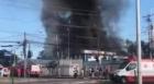 Incêndio de grandes proporções destrói UPA no Rio