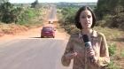 MG / MGC455: Obra inacabada entre Uberl?ndia e Campo Florido. P?ssimas condi??es obrigam 70km a mais