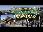 Violento terremoto 7.3 sacode fronteira entre Ir? e Iraque e ? sentido em todo Oriente M?dio
