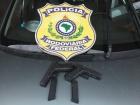 Casal em carro com placa de Contagem/MG pretendia rodar 1.500km levando pistolas .9mm para ´pagar dívidas´