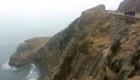 52 pessoas perderam a vida na CURVA DO DIABO, quando um ônibus rolou 160m montanha abaixo no Espiral de Pasamayo, Peru