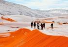 O IMPOSSÍVEL: Caiu neve no deserto do SAARA! Uma fenômeno incrível e raro: Só 3 vezes em 38 anos!