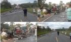 Sobe para 13 número de mortos em acidente em rodovia de Minas Gerais. Acidente na BR-251, Grão Mogol