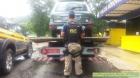 Carro foge do pedágio, PRF vai atrás e descobre que ele já tinha 28 evasões