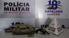 Polícia Militar faz varredura em Contagem/MG: Petrolândia, Nova Contagem, Campo Alto e Oitis, armas, drogas e até carro roubado