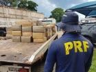 PRF em ação: Motorista buscou quase 7,25 toneladas de maconha em Naviraí/MS e estava indo para Belo Horizonte/MG
