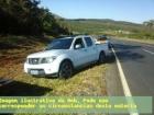 MG/BR050: PM encontra caminhonete Frontier remarcada e carregada com quase 500Kg de maconha